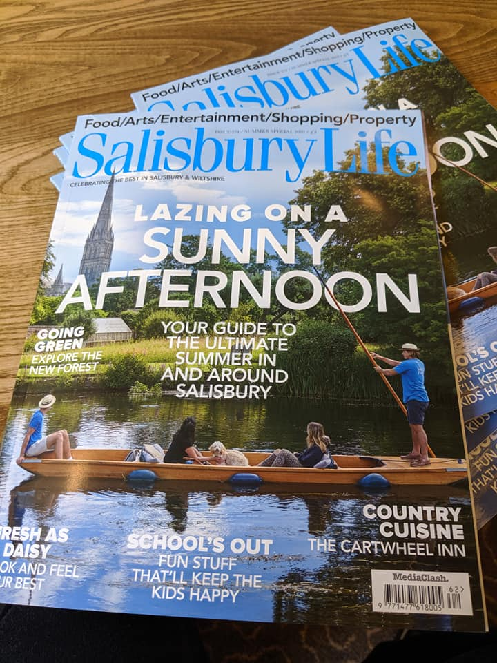 Cartwheel Inn feature Salisbury Life Magazine